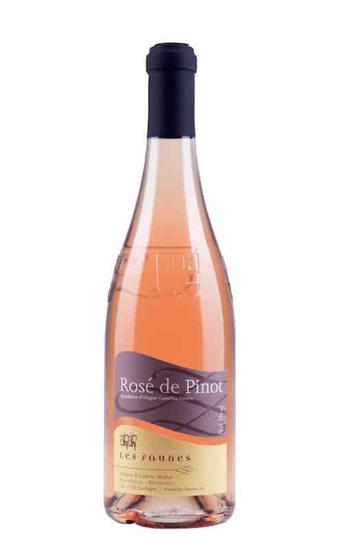 Rosé de Pinot Les Faunes Dardagny 70cl.