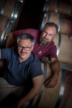 Frédéric und Ludovic Mistral Domaine Les Faunes